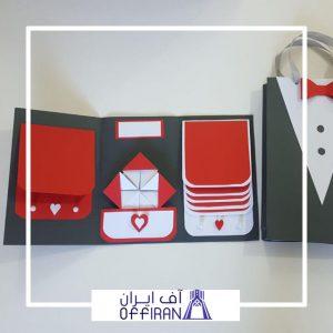 خرید و قیمت اسکرپ بوک همراه با بگ ست مدل آیریس از آف ایران