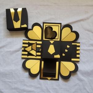 خرید و قیمت جعبه سورپرایز طرح قلب (یک لایه) از آف ایران