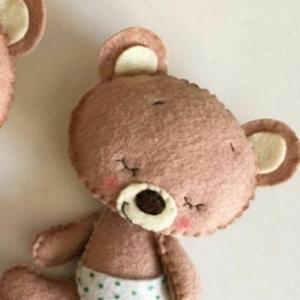 خرید و قیمت عروسک خرس خابالو (نمدی) از آف ایران
