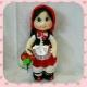 خرید و قیمت عروسک دختر گل فروش از آف ایران