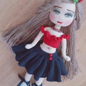 خرید و قیمت عروسک پریا (قلاب بافی) از آف ایران