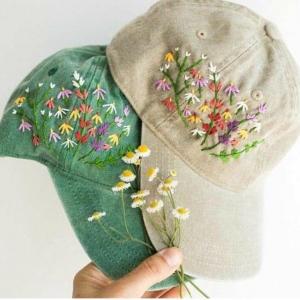 خرید و قیمت کلاه کتان (طرح بهار) از آف ایران