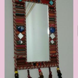 خرید و قیمت آینه سنتی (طرح جاجیم) از آف ایران