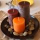 خرید و قیمت ست شمع استوانه ای (در سه سایز) از آف ایران