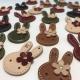 خرید و قیمت استیکر چرمی حروف (طرح خرگوش ) از آف ایران