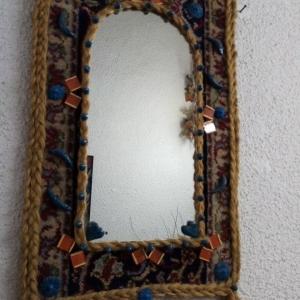 خرید و قیمت آینه دیواری (طرح فرشینه) از آف ایران