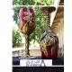 خرید و قیمت جام شیشه ای طرح برگ از آف ایران