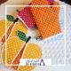 خرید و قیمت دستکش فر طرح پارچه های خالدار از آف ایران