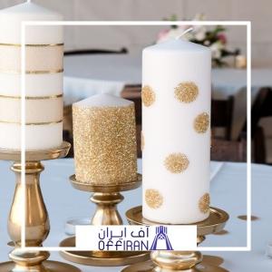 خرید و قیمت شمع استوانه ای اکلیلی از آف ایران