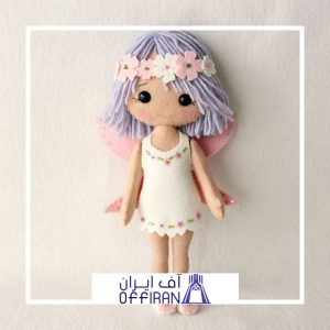 خرید و قیمت عروسک نمدی طرح فرشته از آف ایران