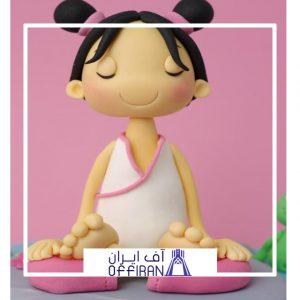 خرید و قیمت عروسک خمیری طرح یوگا از آف ایران
