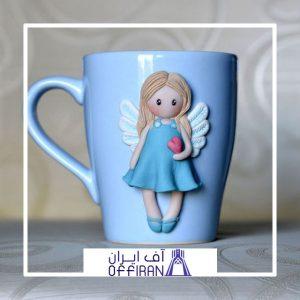 خرید و قیمت ماگ طرح فرشته از آف ایران