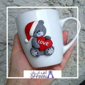 خرید و قیمت ماگ طرح ولنتاین از آف ایران